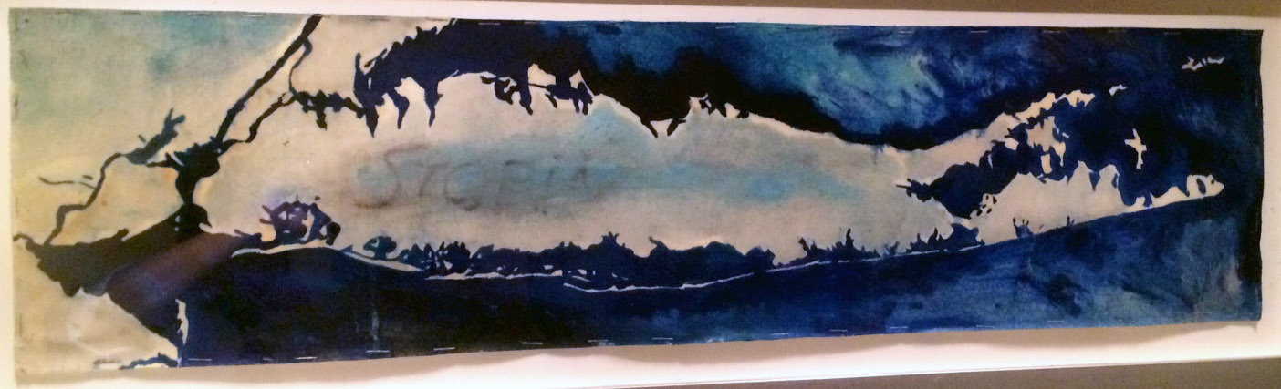 Long Island abstract original painting by Chase Langford