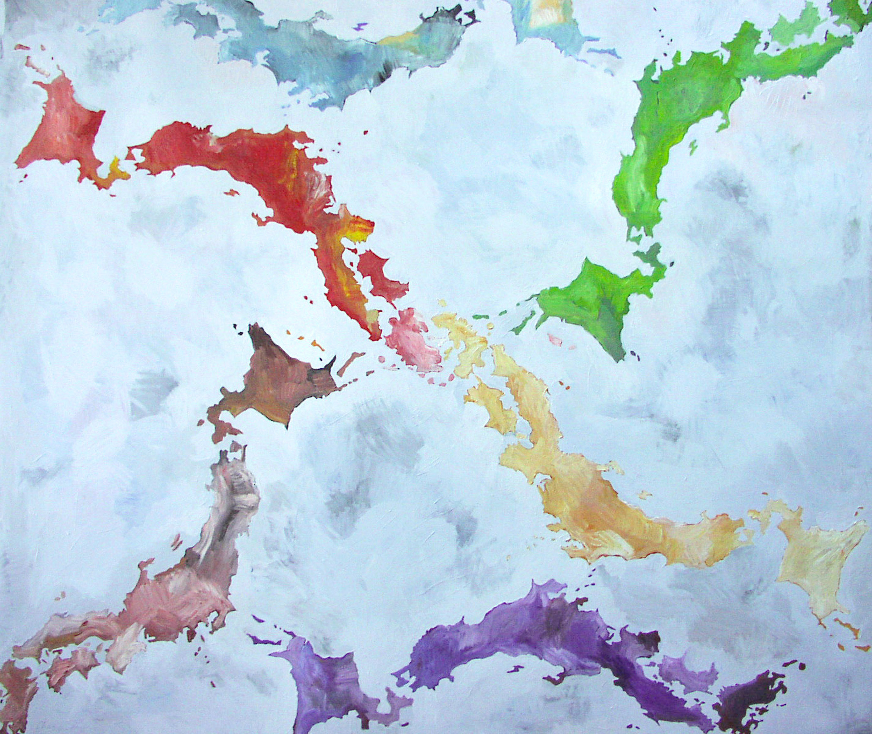 abstract original painting by Chase Langford