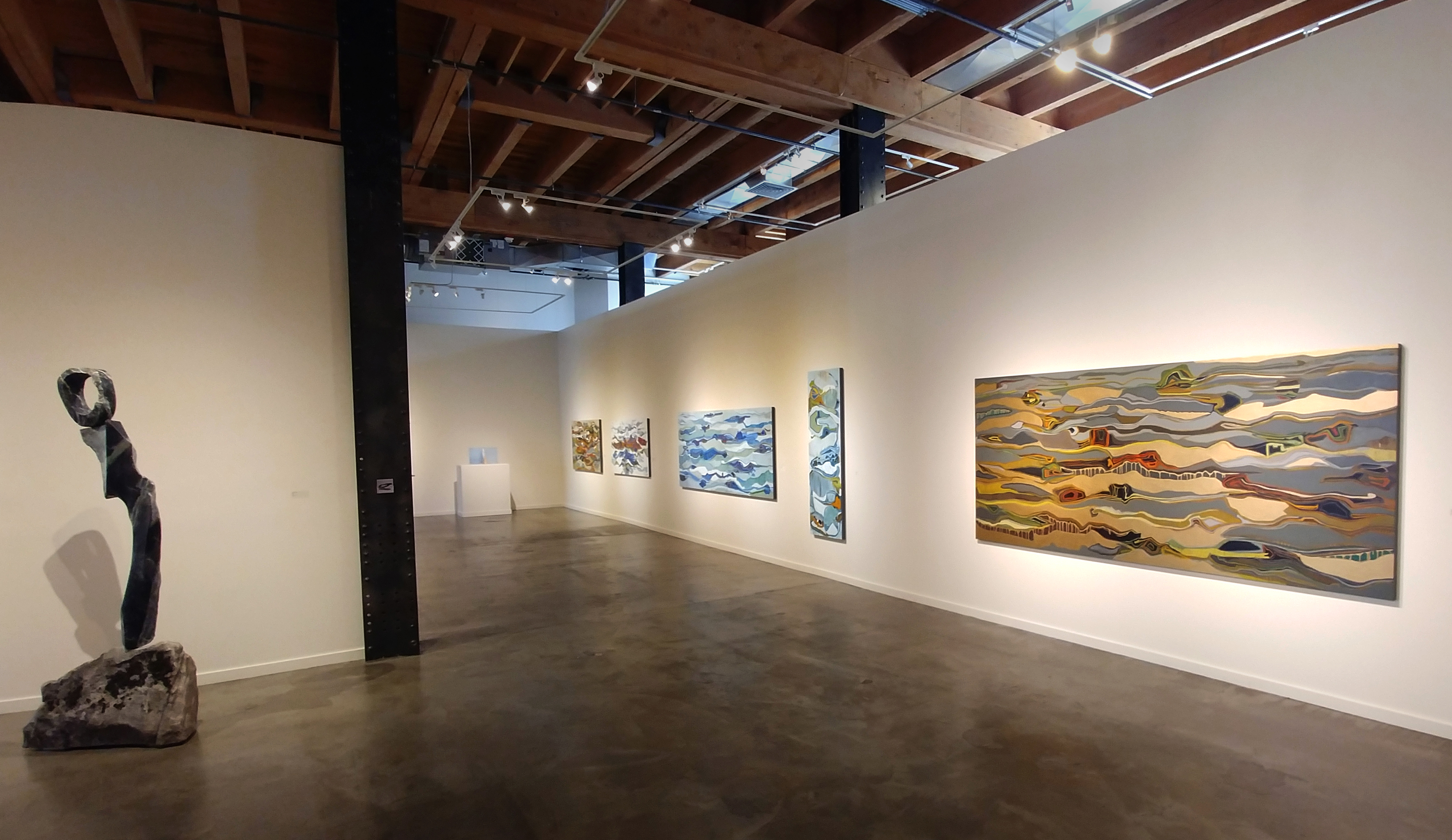 gallery show of art by Chase Langford