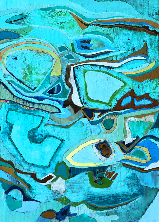 abstract painting by Chase Langford
